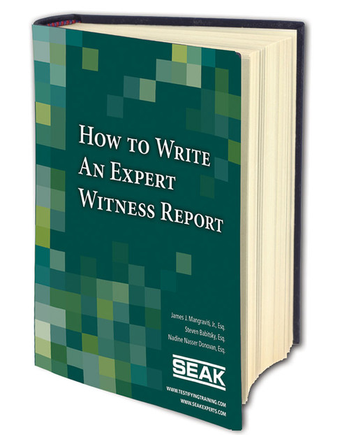How to Write an Expert Witness Report