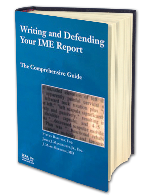 Writing and Defending Your IME Report