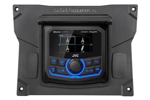 SSV Works 2020+ Kawasaki Teryx KRX JVC MR1 Media Receiver Plug and Play Kit