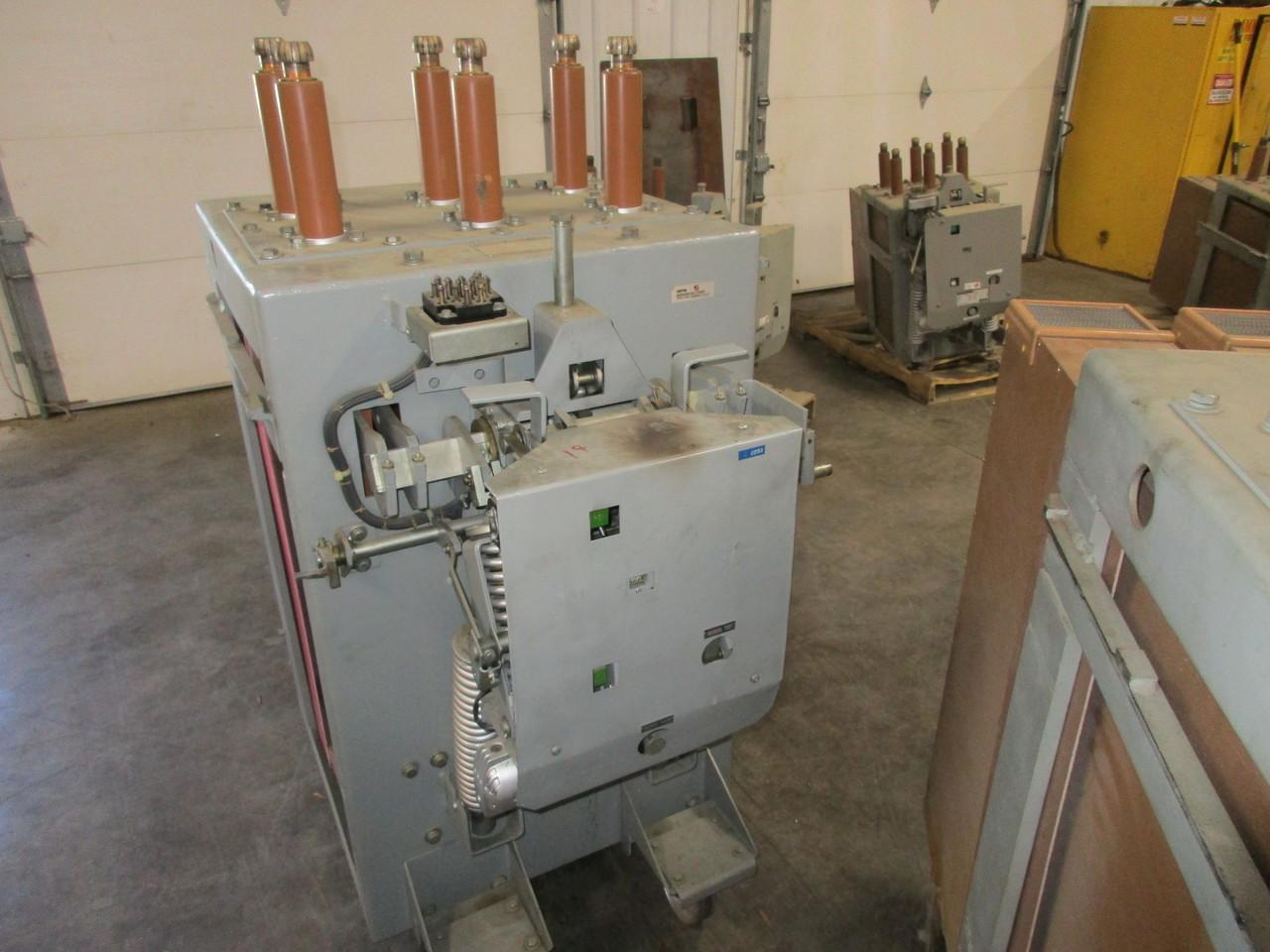 am 13 8 750 3h ge magne blast 1200a 15kv air circuit breaker  am 13 8 750 3h ge magne blast 1200a 15kv air circuit breaker bullock breakers