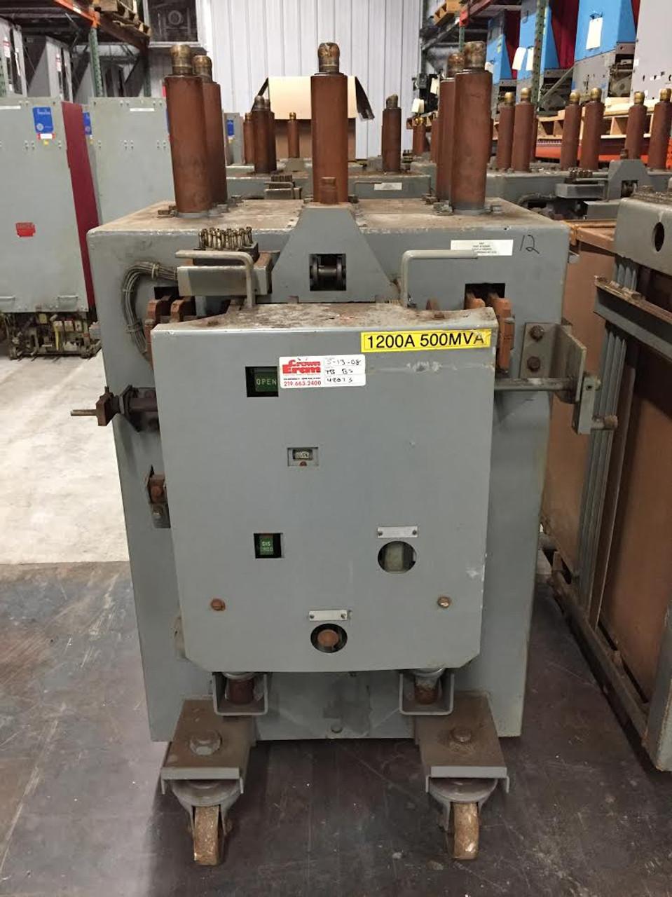 am 13 8 500 5h b ge magne blast 1200a 15kv air circuit breaker  am 13 8 500 5h b ge magne blast 1200a 15kv air circuit breaker bullock breakers