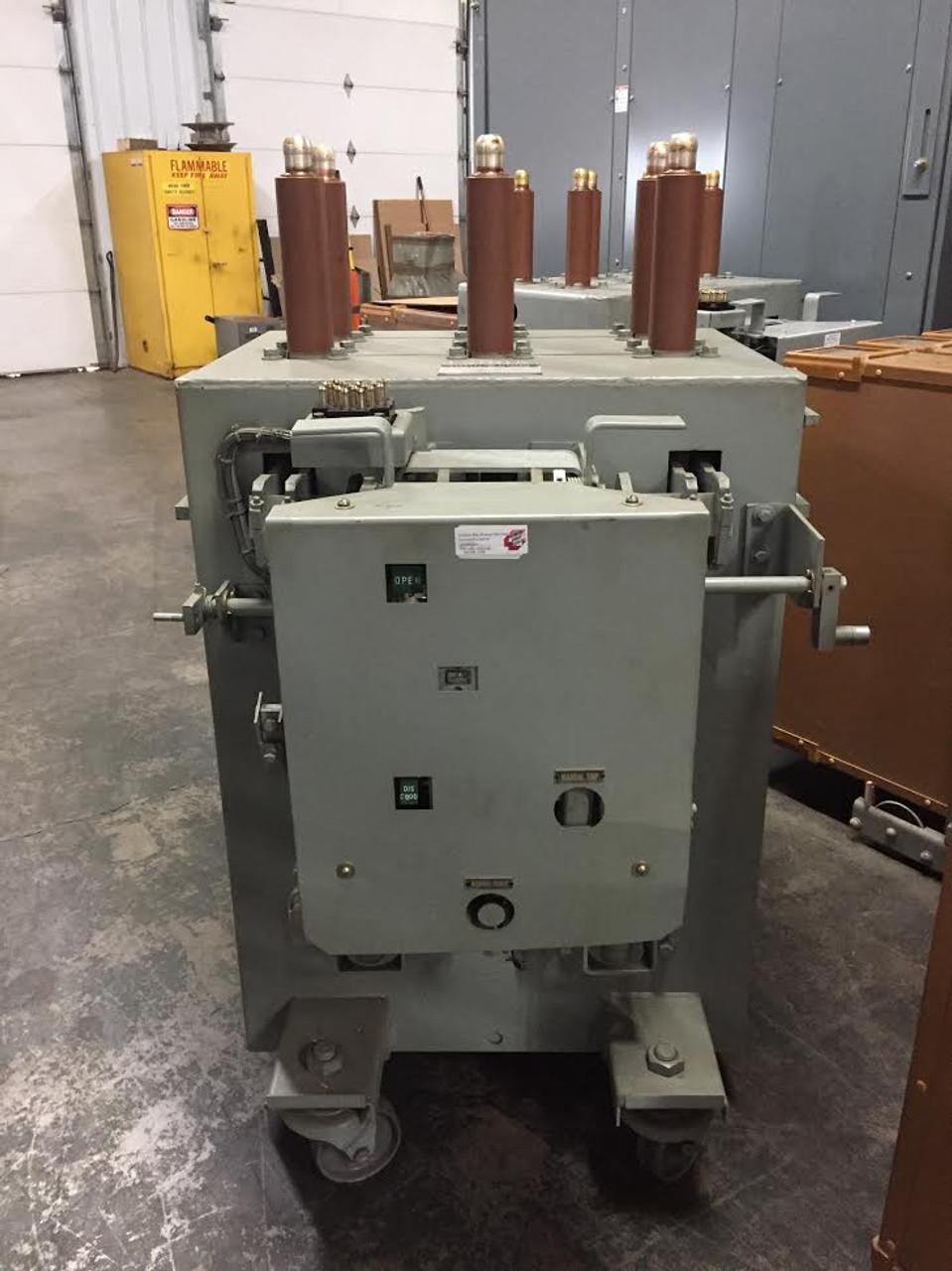 am 13 8 500 5h ge magne blast 1200a 15kv air circuit breaker  am 13 8 500 5h ge magne blast 1200a 15kv air circuit breaker bullock breakers