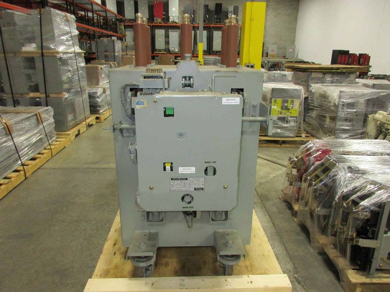 am 13 8 500 7h ge magne blast 1200a 15kv air circuit breaker  am 13 8 500 7h ge magne blast 1200a 15kv air circuit breaker bullock breakers