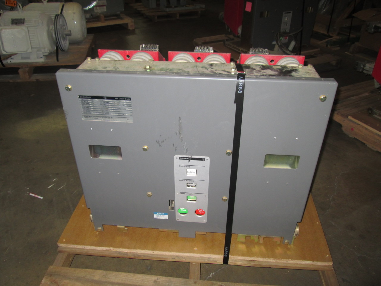 50VCP-250 Westinghouse 1200A 4 76KV Vacuum Circuit Breaker