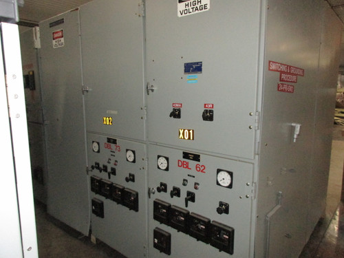 Square D 2-High Metal Clad Switchgear (#101)
