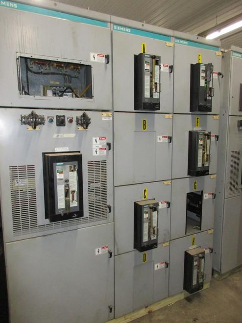 Siemens RL 480/277V Switchgear (#107)