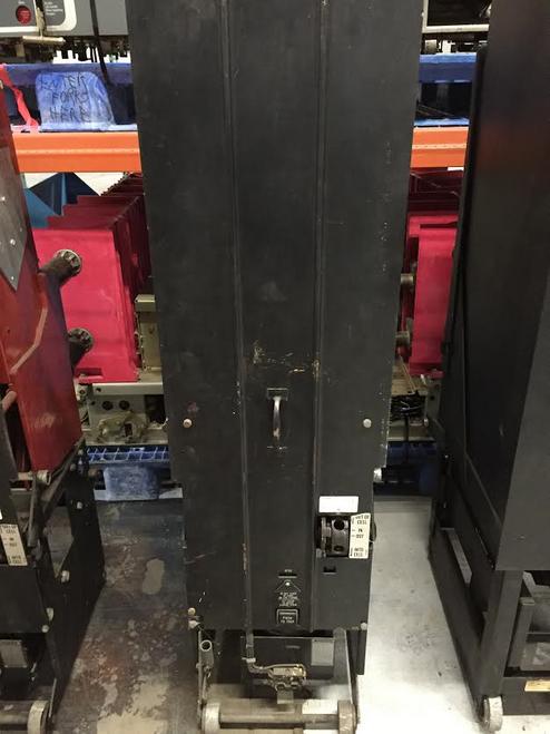 50 DH 75 Westinghouse 1200A 4.76KV Air Circuit Breaker. (Parts Breaker)
