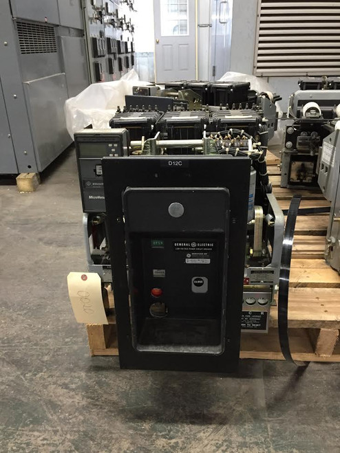 AKRU-10D-30 GE 800A EO/DO 1600A Fuses LSHG Air Circuit Breaker