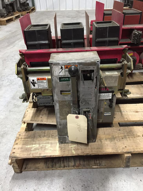 RL-1600 Siemens 1600A MO/DO LI Air Circuit Breaker
