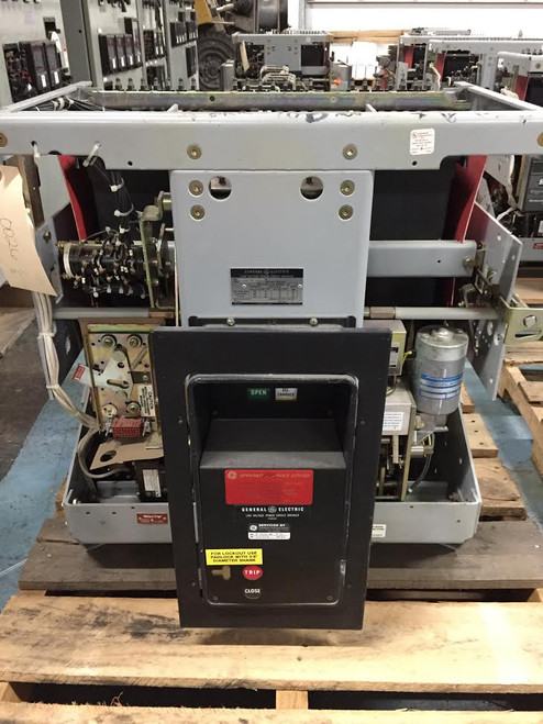 AKR-10D-100 GE 4000A EO/DO Air Circuit Breaker (No Trip)