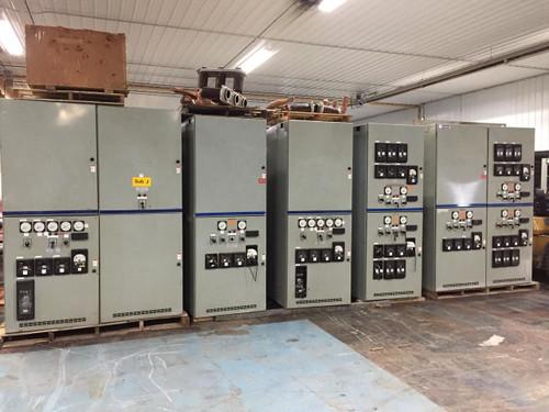 Westinghouse VCP-W 1200A 5KV Metal-Clad Switchgear Lineup (#134)