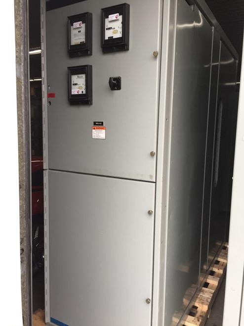 GE PowerVac 15KV Single Section Switchgear (#146)
