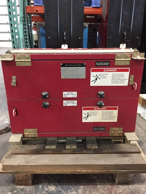 Westinghouse VCP 15KV 1200/2000A Ground & Test Unit