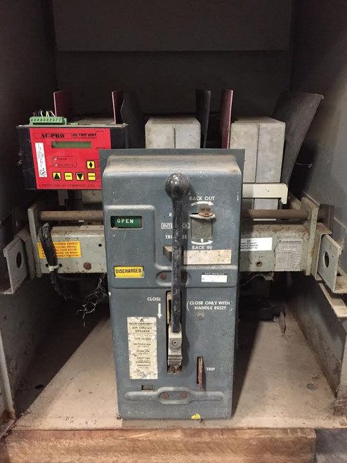 LA-1600 Allis-Chalmers 1600A MO/DO LSIG Air Circuit Breaker W/AC-PRO