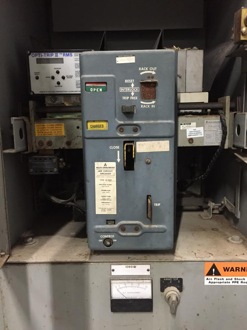 LA-1600 Allis-Chalmers 1600A EO/DO LSIG Air Circuit Breaker