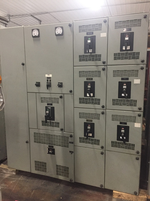 Westinghouse Metal Enclosed DB 480V Switchgear (#164)