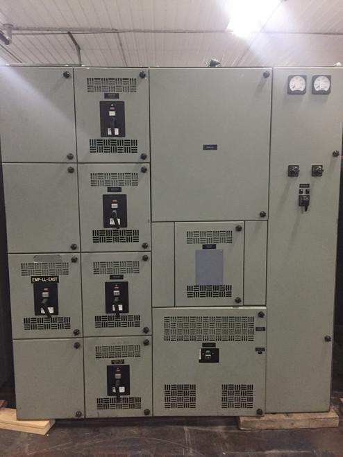 Westinghouse Metal Enclosed DB 480V Switchgear (#165)