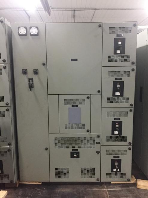 Westinghouse Metal Enclosed DB 480V Switchgear (#166)