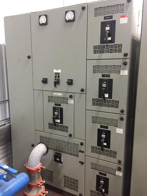 Westinghouse Metal Enclosed DB 480V Switchgear (#168)