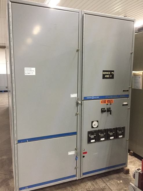 GE PowerVac 5KV Single Section Switchgear (#169)