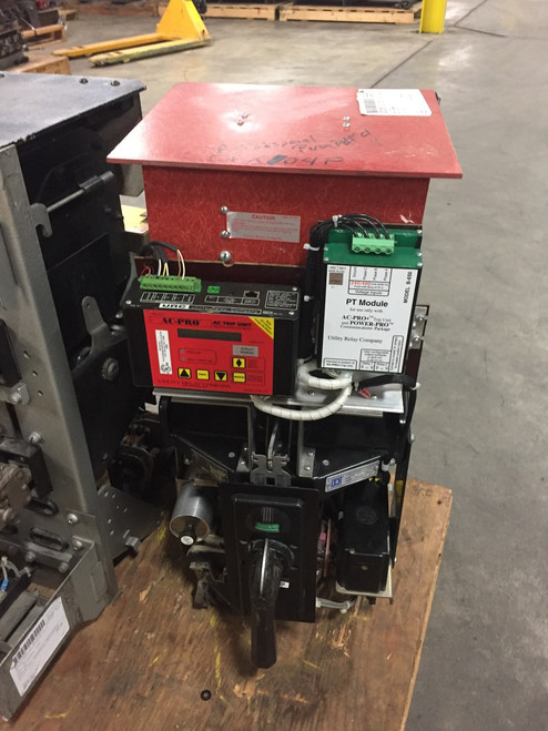 KB ITE 600A EO/DO 200A Cont. Current LSIG Air Circuit Breaker W/AC-PRO