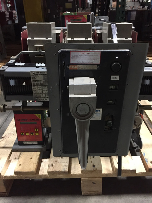 FPS-50 Federal Pacific 1600A MO/DO LSIG Air Circuit Breaker W/AC-PRO
