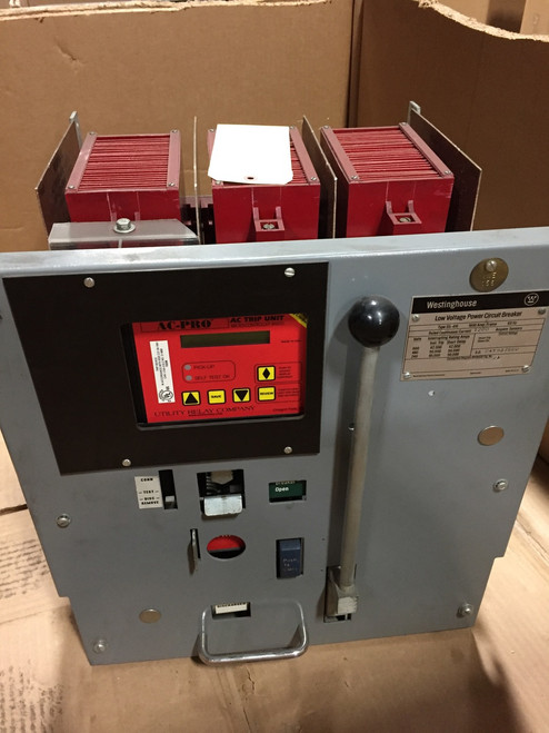DS-416 Westinghouse 1600A MO/DO LSIG Air Circuit Breaker W/AC-PRO