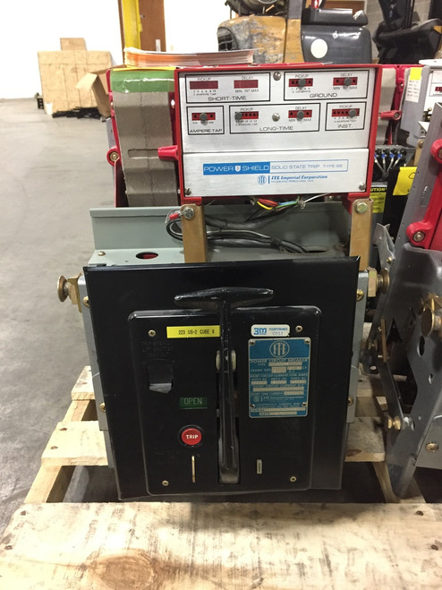 K-600S ITE Red 600A MO/DO LIG Air Circuit Breaker