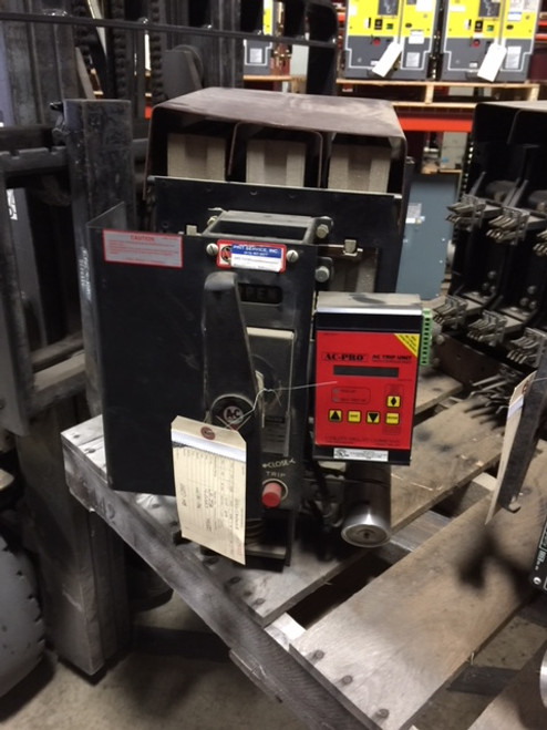LA-25A Allis-Chalmers 600A MO/DO LSIG Air Circuit Breaker W/AC-PRO
