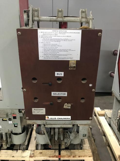 Siemens-Allis Type D 1200A 5KV Ground & Test Unit