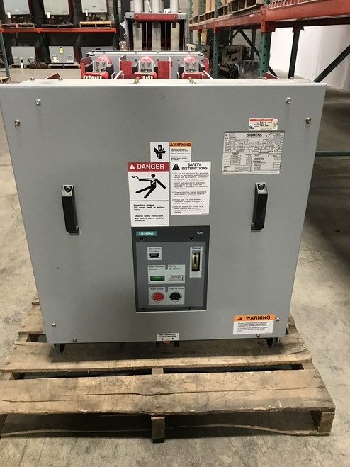 15-GMI-50-2000-130 Siemens 15KV 2000A Vacuum Circuit Breaker