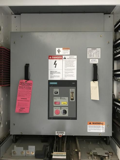 5-GMI-350-3000-78 Siemens 3000A 5KV Vacuum Circuit Breaker