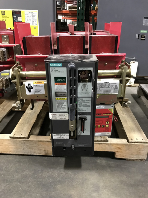 RLE-2000 Siemens 2000A MO/DO LSIG Air Circuit Breaker W/AC-PRO