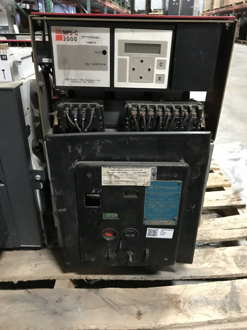 K-600S ITE Red 600A EO/DO LSIG Air Circuit Breaker