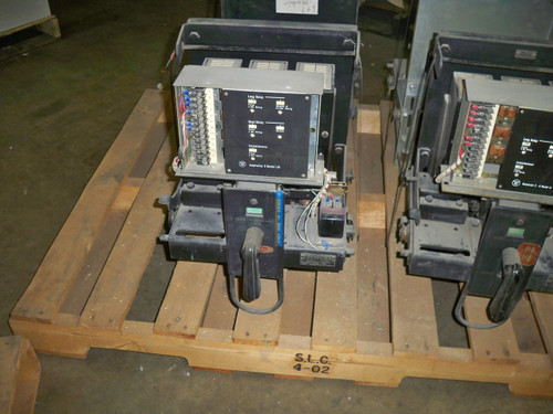 DB-25 Westinghouse 600A MO/DO LSI Air Circuit Breaker