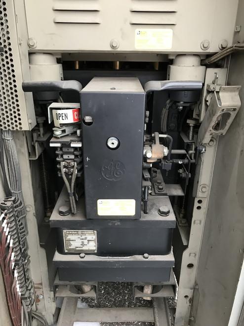 AM-5-250-4 GE Magne-Blast 1200A 5KV Air Circuit Breaker