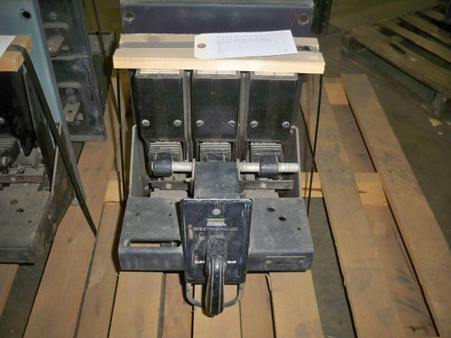 DB-25 Westinghouse 600A 480V MO/FM Air Circuit Breaker