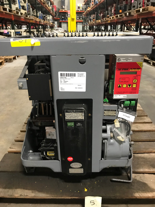 AK-1-50-8 GE 1600A EO/DO LSIG Air Circuit Breaker W/AC-PRO