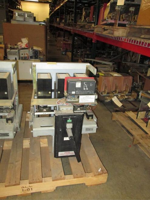 DB-50 Westinghouse 1600A 480V MO/DO LSG Air Circuit Breakers