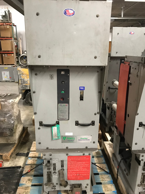 05PV50MAX2-0 Powell 1200A 5KV Vaccum Circuit Breaker