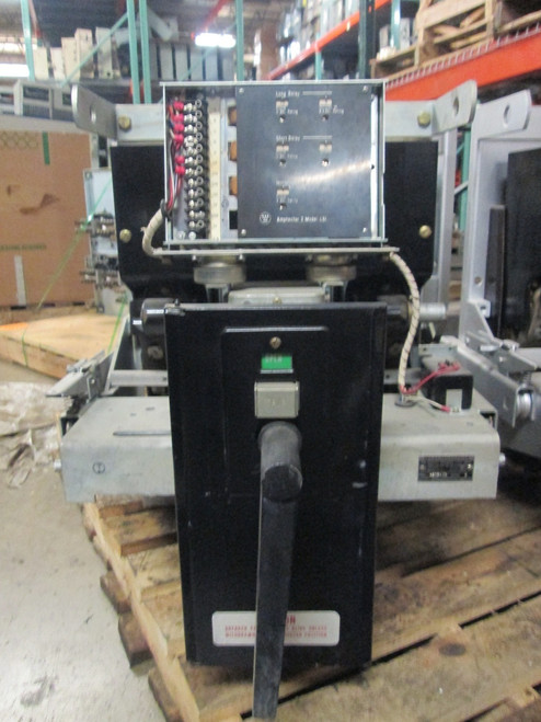 DB-50 Westinghouse 1600A MO/DO LSI Air Circuit Breaker