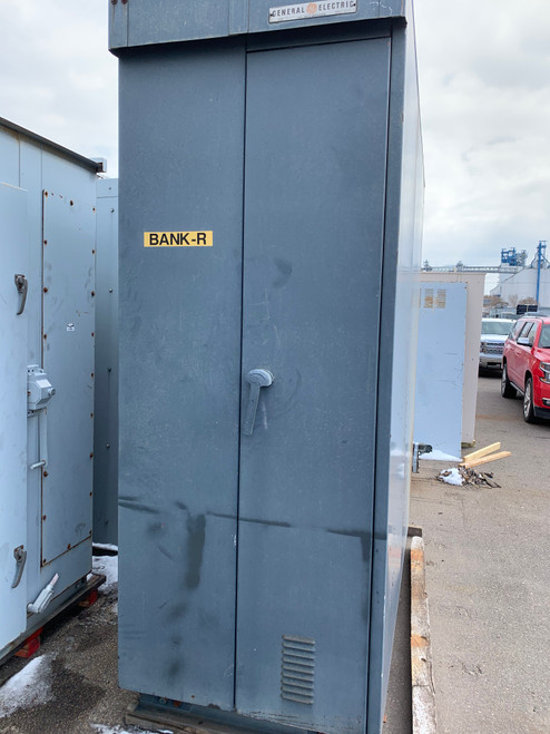 GE AKD-5 NEMA 3R Walk-In Distribution Switchgear Lineup (#206)