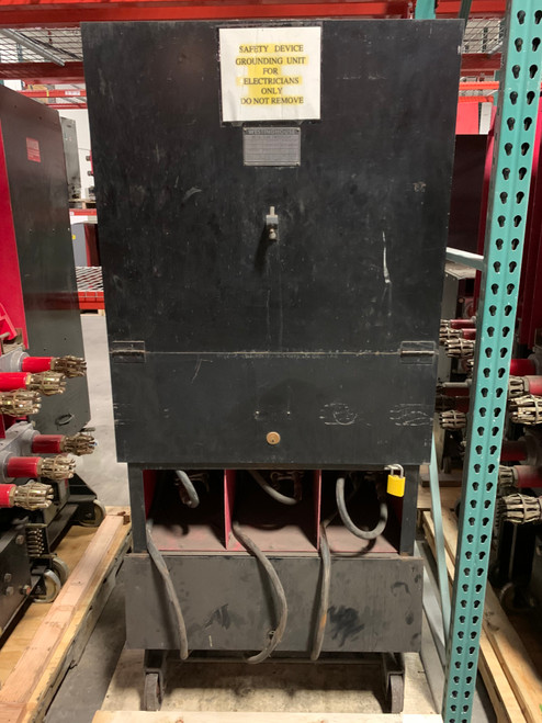 Westinghouse DH 3000A 5KV Ground and Test device for 50DH
