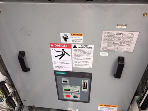 07-GMI-40-1200-104 Siemens 8.25KV 1200A Vacuum Circuit Breaker