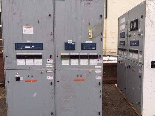 Siemens GMI 7.5KV 1200A Main-Tie-Main Switchgear Lineup (#218)