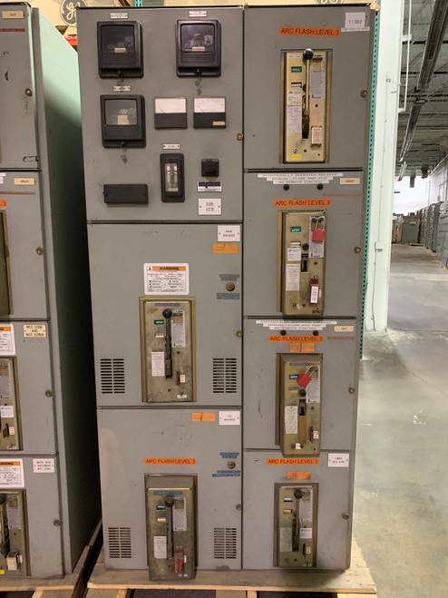 Siemens-Allis LA 1600A Main-Tie Switchgear Lineup (#224)