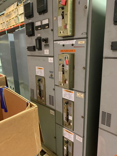 Siemens-Allis LA 1600A Main Switchgear Lineup (#225)