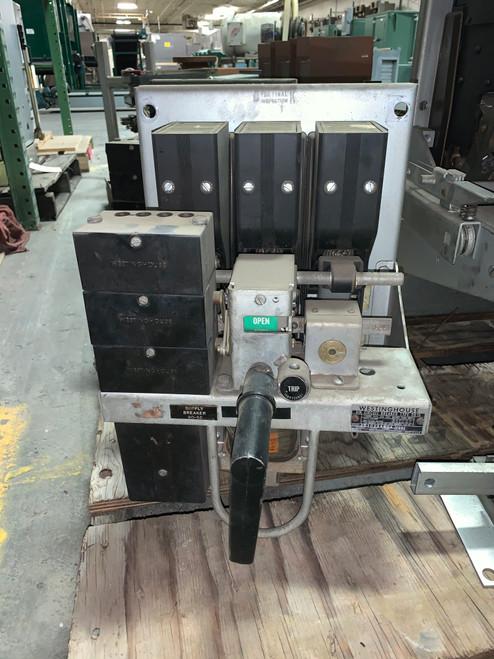 DB-15 Westinghouse 225A EO/FM Instantaneous Air Circuit Breaker
