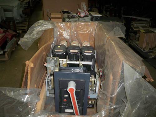 AKRU-6D-30 GE 800A MO/DO 2000A Fuses Air Circuit Breaker (No Trip/New Surplus)