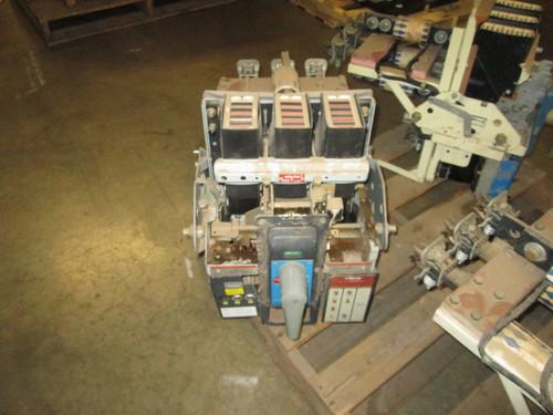 AKRU-6D-30S GE 800A MO/DO 1200A Fuses LSI Air Circuit Breaker.